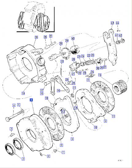 Disque frein 410619